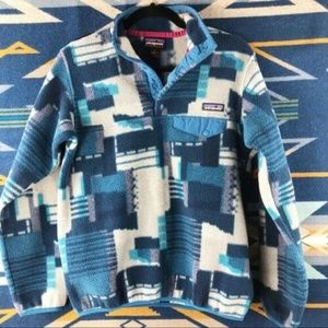 PATAGONIA SYNCHILLA BLUE PATCH PULLOVER AB025